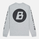 Мужской лонгслив Billionaire Boys Club Digital LS Grey/Black фото- 3