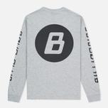 Billionaire Boys Club Digital LS Men's Longsleeve Grey/Black photo- 3