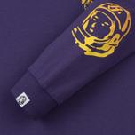 Мужской лонгслив Billionaire Boys Club Gradient Helmet Print Purple фото- 3