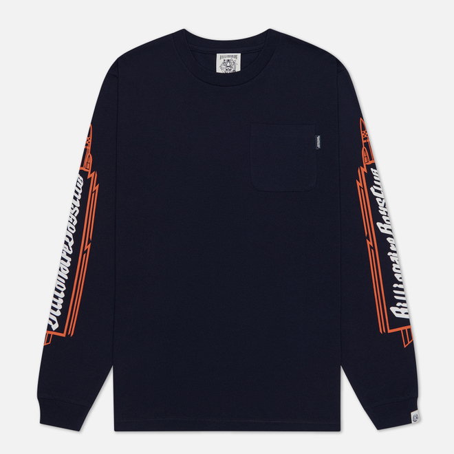 Мужской лонгслив Billionaire Boys Club Heart & Mind Navy