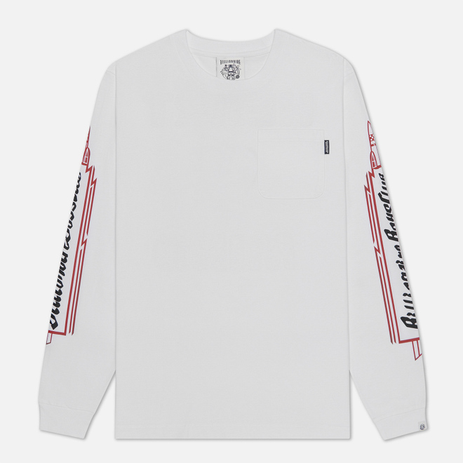 Мужской лонгслив Billionaire Boys Club Heart & Mind White