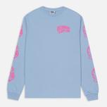 Мужской лонгслив Billionaire Boys Club Helmet Print LS Light Blue/Pink фото- 0
