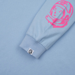 Мужской лонгслив Billionaire Boys Club Helmet Print LS Light Blue/Pink фото- 3
