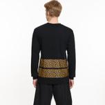 Мужской лонгслив Billionaire Boys Club Leopard Stripe Black фото- 6