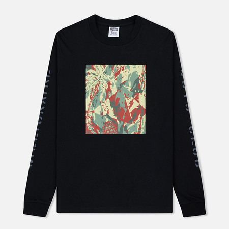 Мужской лонгслив Billionaire Boys Club Lizard Camo Tile Black