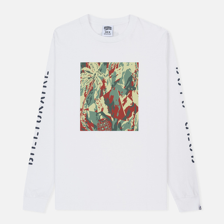 Мужской лонгслив Billionaire Boys Club Lizard Camo Tile White