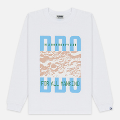 Мужской лонгслив Billionaire Boys Club Lunar Surface White