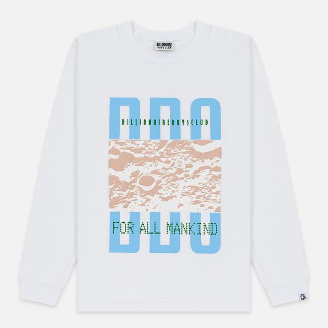 Мужской лонгслив Billionaire Boys Club Lunar Surface White