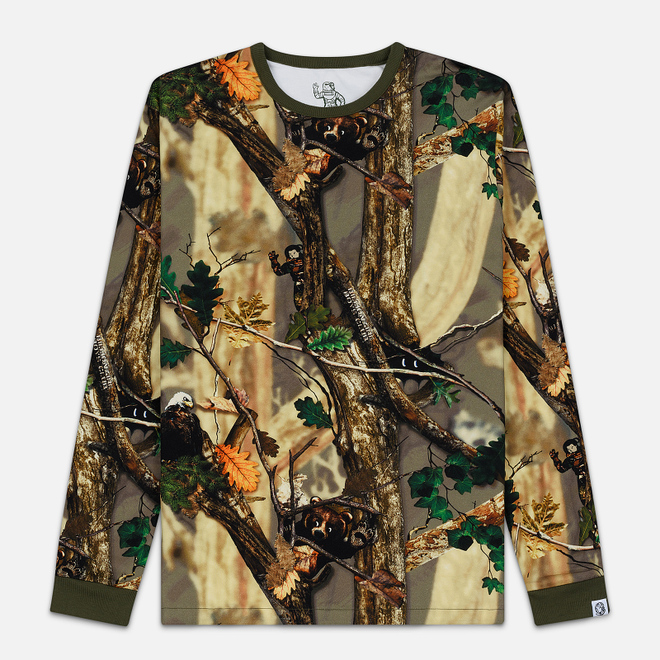 Мужской лонгслив Billionaire Boys Club Reversible Camo Tan