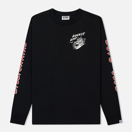 Мужской лонгслив Billionaire Boys Club Rocket Riot Black