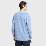 Мужской лонгслив Billionaire Boys Club Small Stripe Blue/White фото- 3