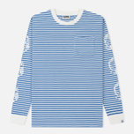 Мужской лонгслив Billionaire Boys Club Small Stripe Blue/White фото- 0