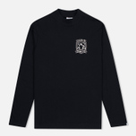 Мужской лонгслив Billionaire Boys Club Space Alps LS Black фото- 0
