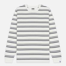 Мужской лонгслив Billionaire Boys Club Stripe Knit White фото- 0