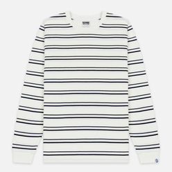 Мужской лонгслив Billionaire Boys Club Stripe Knit White