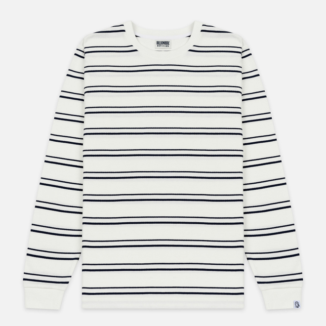 Мужской лонгслив Billionaire Boys Club Stripe Knit White
