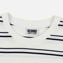 Мужской лонгслив Billionaire Boys Club Stripe Knit White фото- 1