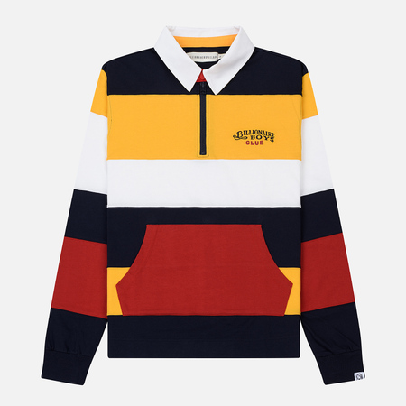 Мужской лонгслив Billionaire Boys Club Striped Rugby Yellow