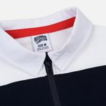 Мужской лонгслив Billionaire Boys Club Striped Zip Rugby White фото- 1