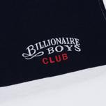 Мужской лонгслив Billionaire Boys Club Striped Zip Rugby White фото- 2
