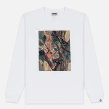 Мужской лонгслив Billionaire Boys Club Tree Camo Swatch White фото- 0