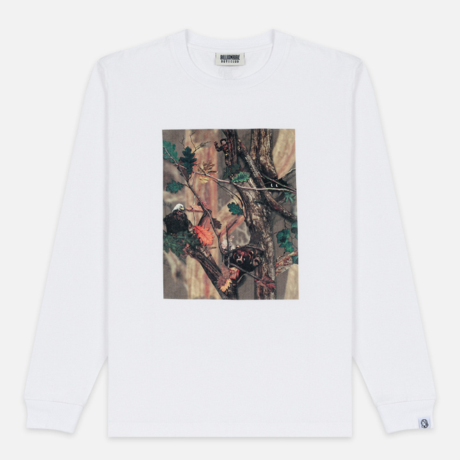 Мужской лонгслив Billionaire Boys Club Tree Camo Swatch White