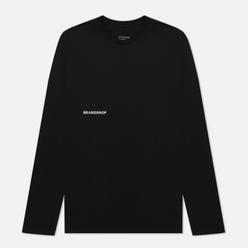 Мужской лонгслив BRANDSHOP Chest And Back Logo Black