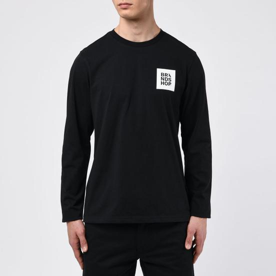 Мужской лонгслив BRANDSHOP Square Logo Black
