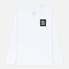 Мужской лонгслив BRANDSHOP Square Logo White фото- 0