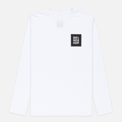 Мужской лонгслив BRANDSHOP Square Logo White