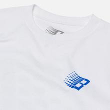 Мужской лонгслив Bronze 56K B Logo Tennis White фото- 1