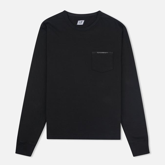 Мужской лонгслив C.P. Company Bluza Black