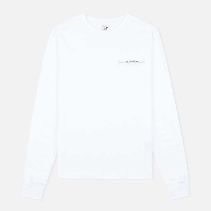 Мужской лонгслив C.P. Company Bluza White