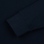 Мужской лонгслив C.P. Company Regular Fit LS Cotton Polo Blue фото- 2