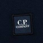 Мужской лонгслив C.P. Company Regular Fit LS Cotton Polo Blue фото- 4