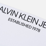 Мужской лонгслив Calvin Klein Jeans Est. 1978 Modernist Logo Bright White/Fist Lad фото- 4