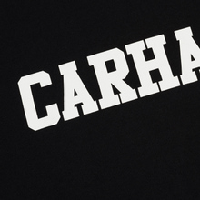Мужской лонгслив Carhartt WIP College Graphic Print Black/White фото- 2