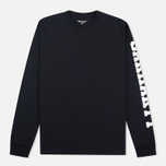 Мужской лонгслив Carhartt WIP College Left Black/White фото- 0