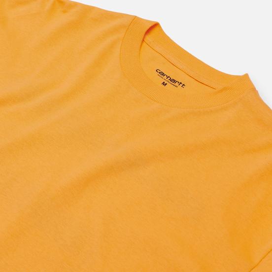 Мужской лонгслив Carhartt WIP Inter Pop Orange
