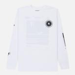 Мужской лонгслив Carhartt WIP L/S Confidential White/Black фото- 0