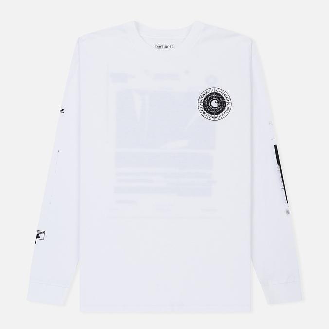 Мужской лонгслив Carhartt WIP L/S Confidential White/Black