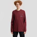 Мужской лонгслив Carhartt WIP L/S Dreaming Cranberry/Light Yucca фото- 2