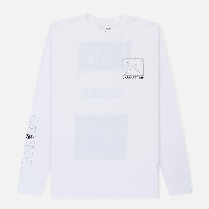 Мужской лонгслив Carhartt WIP L/S Dreaming White/Black
