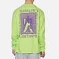 Мужской лонгслив Carhartt WIP L/S Foundation Lime/Snape Purple фото - 3