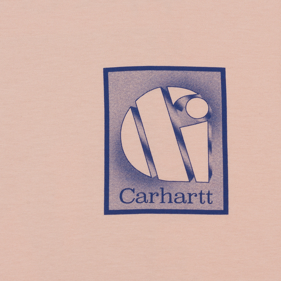 Мужской лонгслив Carhartt WIP L/S Foundation Powdery/Blue