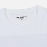 Мужской лонгслив Carhartt WIP L/S Horizon White фото- 1
