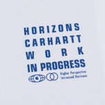 Мужской лонгслив Carhartt WIP L/S Horizon White фото- 2