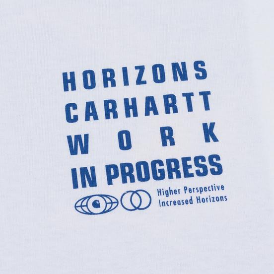 Мужской лонгслив Carhartt WIP L/S Horizon White