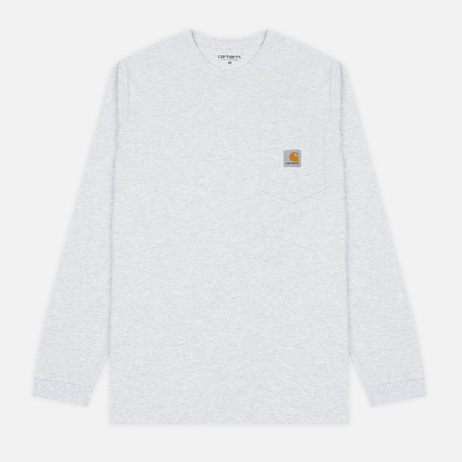 Мужской лонгслив Carhartt WIP L/S Pocket Ash Heather