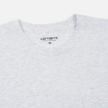 Мужской лонгслив Carhartt WIP L/S Pocket Ash Heather фото- 1